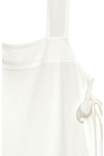 Strap top with ties - White - Ladies | H&M 3